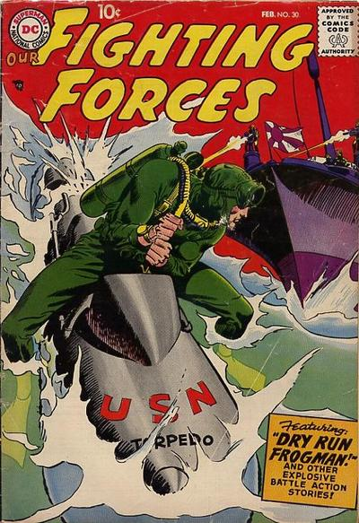 Cover for Our Fighting Forces (DC, 1954 series) #30