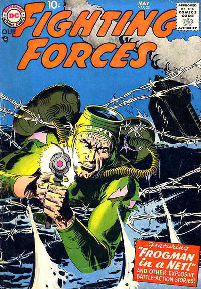 Cover for Our Fighting Forces (DC, 1954 series) #33