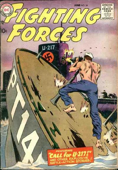 Cover for Our Fighting Forces (DC, 1954 series) #34