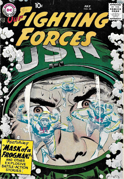Cover for Our Fighting Forces (DC, 1954 series) #35