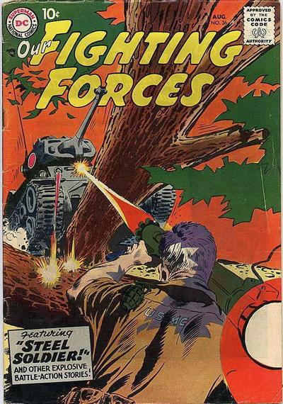 Cover for Our Fighting Forces (DC, 1954 series) #36