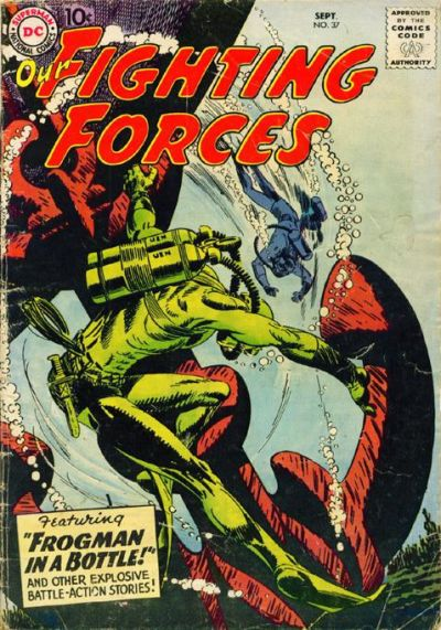 Cover for Our Fighting Forces (DC, 1954 series) #37