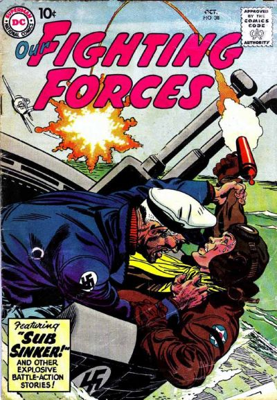 Cover for Our Fighting Forces (DC, 1954 series) #38