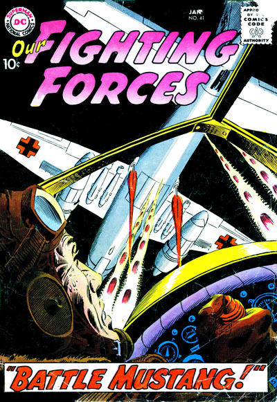 Cover for Our Fighting Forces (DC, 1954 series) #41