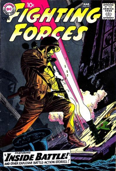 Cover for Our Fighting Forces (DC, 1954 series) #43