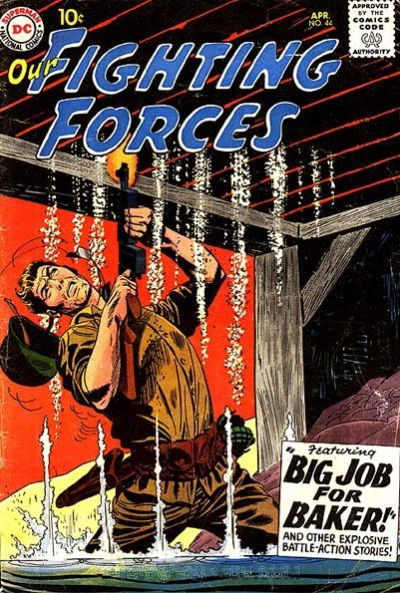 Cover for Our Fighting Forces (DC, 1954 series) #44