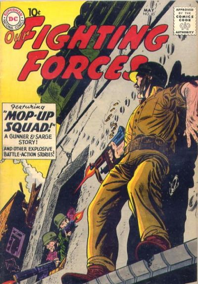 Cover for Our Fighting Forces (DC, 1954 series) #45
