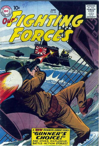 Cover for Our Fighting Forces (DC, 1954 series) #46
