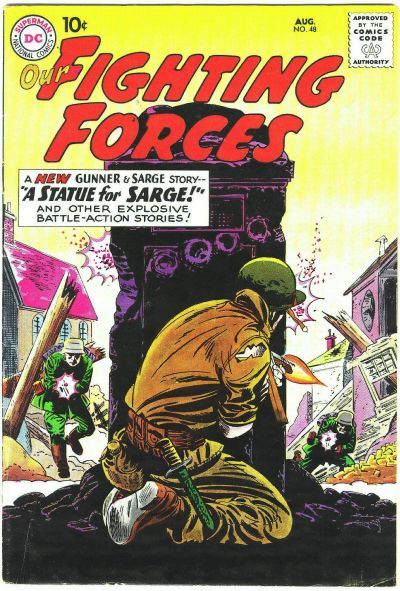 Cover for Our Fighting Forces (DC, 1954 series) #48