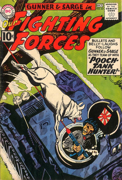 Cover for Our Fighting Forces (DC, 1954 series) #63