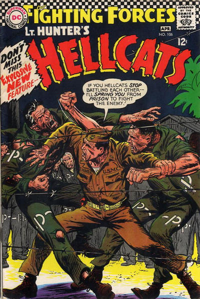Cover for Our Fighting Forces (DC, 1954 series) #106