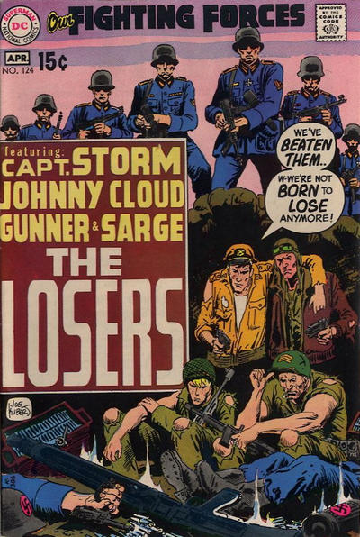 Cover for Our Fighting Forces (DC, 1954 series) #124