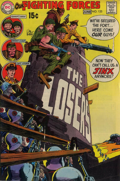 Cover for Our Fighting Forces (DC, 1954 series) #125