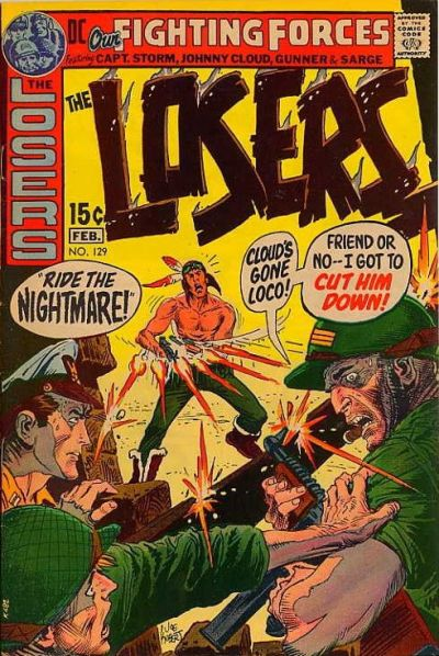 Cover for Our Fighting Forces (DC, 1954 series) #129