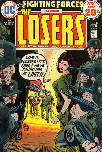 Cover for Our Fighting Forces (DC, 1954 series) #149