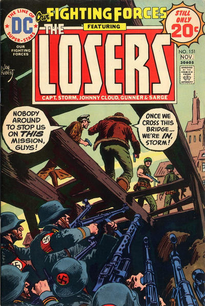 Cover for Our Fighting Forces (DC, 1954 series) #151