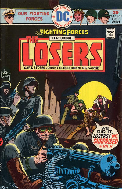 Cover for Our Fighting Forces (DC, 1954 series) #160