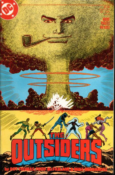 Cover for The Outsiders (DC, 1985 series) #2