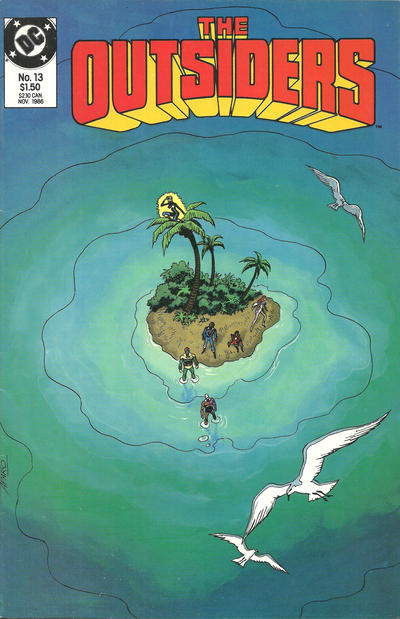 Cover for The Outsiders (DC, 1985 series) #13