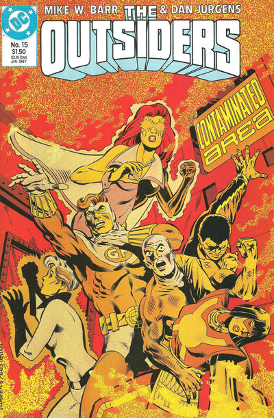 Cover for The Outsiders (DC, 1985 series) #15