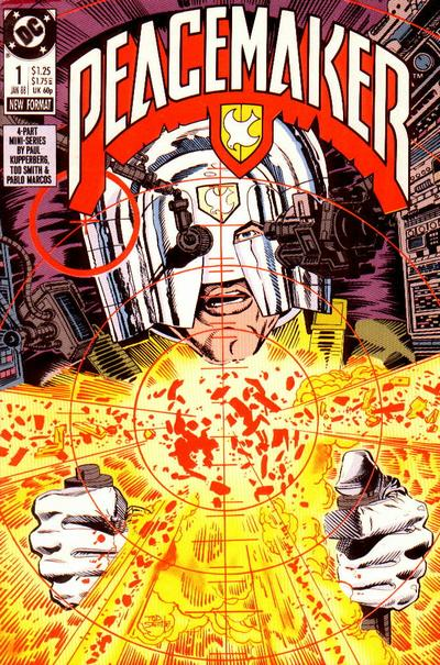 Cover for Peacemaker (DC, 1988 series) #1
