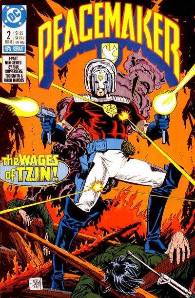 Cover for Peacemaker (DC, 1988 series) #2