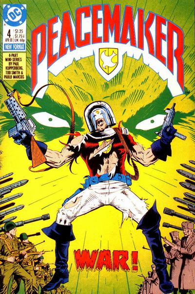 Cover for Peacemaker (DC, 1988 series) #4