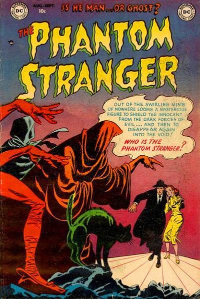 Cover for The Phantom Stranger (DC, 1952 series) #1