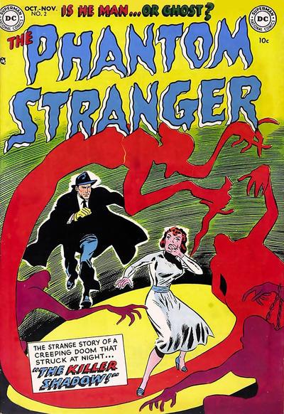 Cover for The Phantom Stranger (DC, 1952 series) #2
