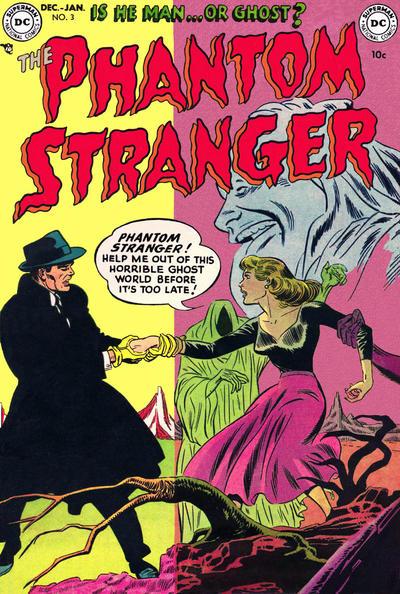 Cover for The Phantom Stranger (DC, 1952 series) #3