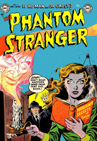 Cover for The Phantom Stranger (DC, 1952 series) #4