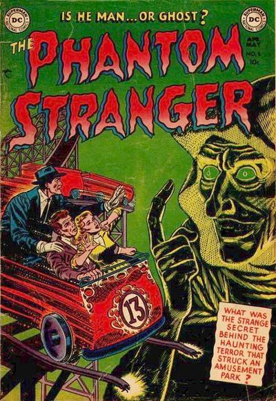 Cover for The Phantom Stranger (DC, 1952 series) #5