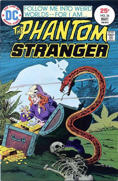 Cover for The Phantom Stranger (DC, 1969 series) #36