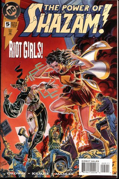 Cover for The Power of SHAZAM! (DC, 1995 series) #5 [Direct Sales]