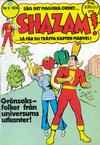 Cover for Shazam! (Williams Förlags AB, 1974 series) #9/1974