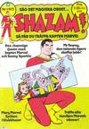 Cover for Shazam! (Williams Förlags AB, 1974 series) #1/1975