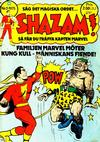 Cover for Shazam! (Williams Förlags AB, 1974 series) #2/1975