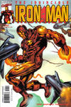 Cover for Iron Man (Marvel, 1998 series) #37