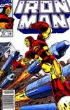 Cover Thumbnail for Iron Man (1968 series) #277 [Newsstand]