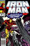 Cover for Iron Man (Marvel, 1968 series) #280 [Newsstand Edition]