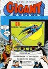 Cover for Gigant (Illustrerte Klassikere / Williams Forlag, 1969 series) #4/1976