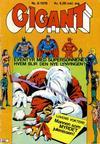 Cover for Gigant (Illustrerte Klassikere / Williams Forlag, 1969 series) #6/1976