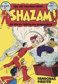 Cover Thumbnail for Shazam! (Williams Förlags AB, 1974 series) #3/1975