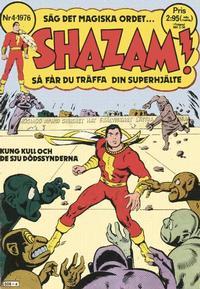 Cover Thumbnail for Shazam! (Semic, 1976 series) #4/1976