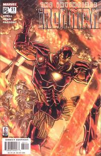Cover Thumbnail for Iron Man (Marvel, 1998 series) #51 (396) [Direct Edition]