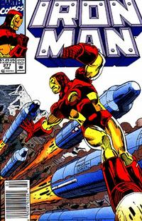 Cover Thumbnail for Iron Man (Marvel, 1968 series) #277 [Newsstand]