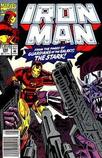 Cover Thumbnail for Iron Man (Marvel, 1968 series) #280 [Newsstand Edition]