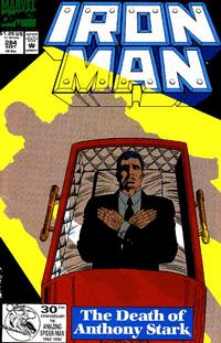 Cover Thumbnail for Iron Man (Marvel, 1968 series) #284 [Direct Edition]