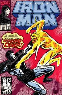 Cover for Iron Man (Marvel, 1968 series) #289