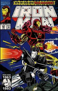 Cover Thumbnail for Iron Man (Marvel, 1968 series) #291 [Direct Edition]